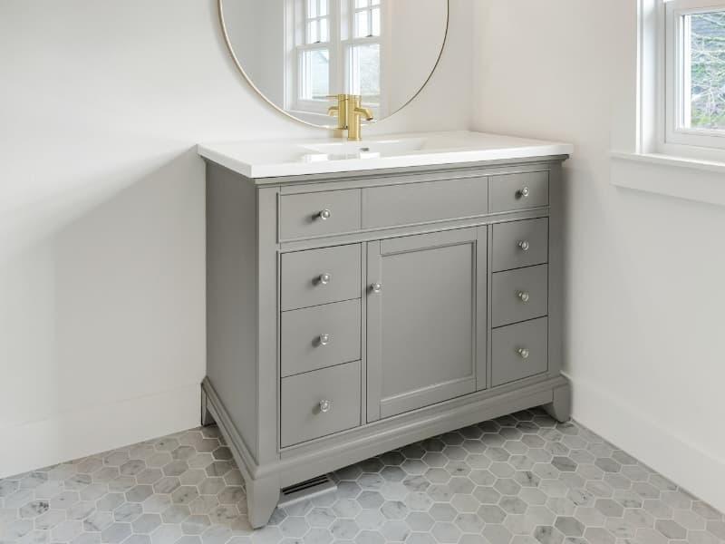 Do Bathroom Vanities Come In Diffe, Shallow Depth Bathroom Sinks